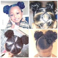 natural hairstyles Black toddler Hairstyles are most versatile, diversified and cute hairstyles among all kids hairstyles of all ethnicity. We know you are a caring parent trying to Toddler Braided Hairstyles, Toddler Braids, Natural Hairstyles For Kids, Black Hairstyles, Black Toddler Girl Hairstyles, Children Hairstyles, Female Hairstyles, Beautiful Hairstyles, Toddler African American Hairstyles