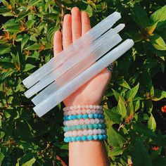 ✨⚡️Luminous Selenite is used for cleansing and protection. This stone helps to dispel negative energy & replace with calming peaceful… Crystal Shop, Wands, Cleanse, Gemstone Jewelry, Turquoise Bracelet, Etsy Shop, Gemstones, Selenite Crystals, Circle Drawing