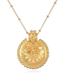 Satya Jewelry Mandala Pendant Necklace at YogaOutlet.com || gypsy gems