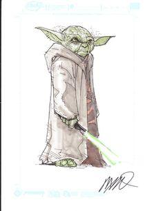 Yoda by Humberto Ramos
