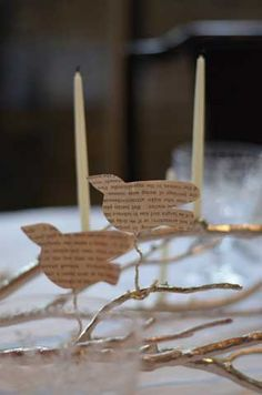 Love Birds- Valentine's Theme tablesetting