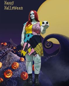 Inspiration & Accessoires: Nightmare before Christmas Sally sexy curvy plus size Halloween Costume Idea Sally Halloween Costume, Couple Halloween, Halloween Cosplay, Fall Halloween, Family Costumes, Diy Costumes, Costumes For Women, Cosplay Costumes, Plus Size Cosplay