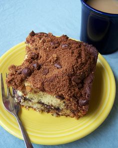 Banana Coffee Cake with Chocolate Chip Streusel by Back to the Cutting Board, via Flickr
