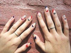 Negative Space Manicure by #nailsinc on the #Sephora Beauty Board