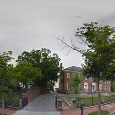 Georgetown DC Public Library + Book Hill Park // Google Maps Street View