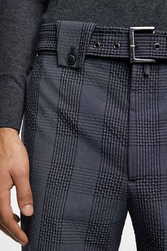 - Freshen Up Your Wardrobe with a Touch of Exclusive Styles. Exclusive Trend L - Mens Dress Pants, Men Dress, Men Trousers, Men's Pants, Fashion Moda, Fashion Pants, Mature Mens Fashion, Designer Suits For Men, Slim Fit Pants