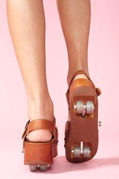 Retractable Rollin' Platform Shoes by Jeffrey Campbell