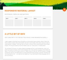 Responsive Material Layout, #Code, #CSS, #CSS3, #HTML, #HTML5, #Javascript, #Layout, #Material #Design, #Parallax, #Resource, #Responsive, #Snippets, #Transition, #Web #Design, #Development