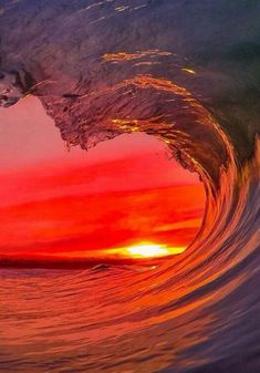 Read More About GoPro sunset Photo: Santa Cruz Waves - high enough to see the sea No Wave, Surf Mar, Beautiful World, Beautiful Places, Beautiful Scenery, Landscape Photography, Nature Photography, Beautiful Sunrise, Sunset Photos