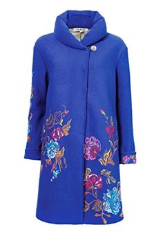 IVKO Long Merino Wool Coat with Embroidered Flower Design... http://www.amazon.com/dp/B013RIJ3XG/ref=cm_sw_r_pi_dp_Rz6ixb035ESRS
