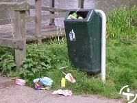 Juf Janneke lesideeën en downloads afval voor kleuters