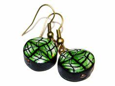 Polyclay earrings