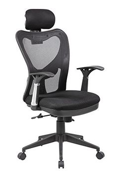 Breathable, adjustable in nearly every way and supportive, this chair has all the features you would expect from a high-end, luxury office chair, at a fraction of the price. All black with chrome accents, the simple color scheme fits in with nearly any office or work environment. The... more details available at https://furniture.bestselleroutlets.com/home-office-furniture/home-office-desk-chairs/adjustable-chairs/product-review-for-eurosports-mesh-chair-es-8064-bk-adjustable