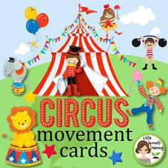 This card set is designed to engage children in movement using fine and gross motor skills while learning about the words related to theme of the cards. It is my hope this product will aid you and your students as a start to your day, brain breaks, or