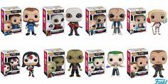 POP Movies: Suicide Squad - Joker Shirtless,Rick Flagg, Killer Croc, Katana, Deadshot (Masked), El Diablo, Harley Quinn, Boomerang! Vinyl Figures Set of 8 http://amzn.to/1VOd5KX