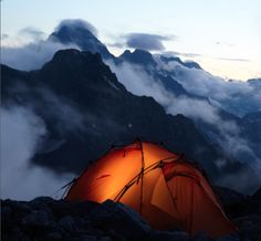 What a majestic campsite - the backpacking guides at http://SierraSpirit.biz have campsite envy!