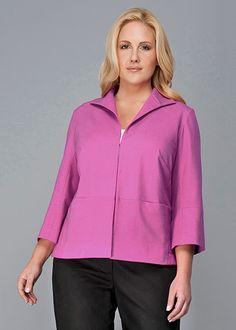 Plus-Size Metropolitan Stretch Hoda Jacket