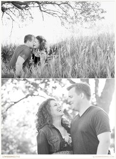 Hometown Vintage Engagement Session by Moment to Moment Wedding Photgraphy.