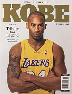 """KOBE MAGAZINE - SPECIAL COLLECTOR'S ISSUE TRIBUTE TO A LEGEND """"KOBE BRYANT"""" (1978-2020) Kobe Bryant Quotes, Lakers Kobe Bryant, Kobe Bryant Dunk, Kobe Lebron, Lebron James, Slam Magazine, Issue Magazine, Sports Magazine, Magazine Covers"""