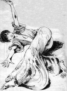 La enigmática sensualidad de Valentina, por Guido Crepax | OLDSKULL