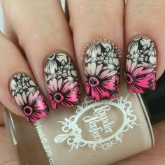 Born Pretty Store Stamping Plates & 3D Nail Art - Swatches & Review