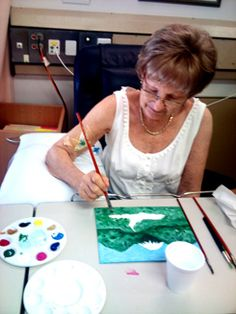 Art Therapy at Mater Cancer Services Day Oncology