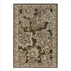 Nebraska Furniture Mart – Shaw Newport Zaria 5'3'' x 7'7'' Brown Area Rug