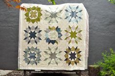 Swoon Quilt in Parson Gray fabrics