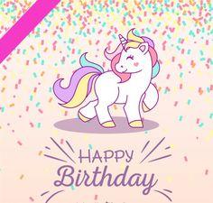 Happy Birthaday Unicorn