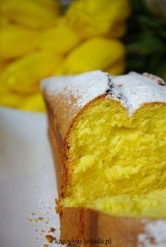 Babka złocista z przepisu od mamy Polish Desserts, Polish Recipes, Holiday Desserts, Fun Desserts, Sweet Recipes, Cake Recipes, Good Food, Yummy Food, Different Cakes