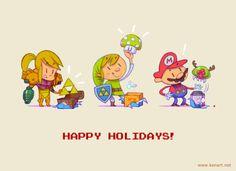 Secret Santa... Nintendo style! :)
