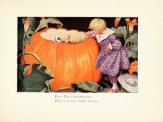 Pumpkin-eater - The Little Mother Goose; published by Dodd, Mead & Company, 1918