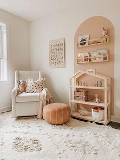 Baby Bedroom, Baby Boy Rooms, Baby Room Decor, Nursery Room, Kids Bedroom, Ikea Baby Room, Apartment Nursery, Boho Nursery, Peach Baby Nursery