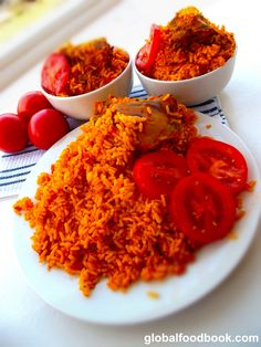 Benachin rice also known as Jollof rice is a popular West African rice dish…
