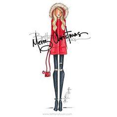 Christmas Illustration, Illustration Art, Illustrations, Fairy Art, Brittany, Winter Wonderland, Fashion Art, Girly, Things To Come