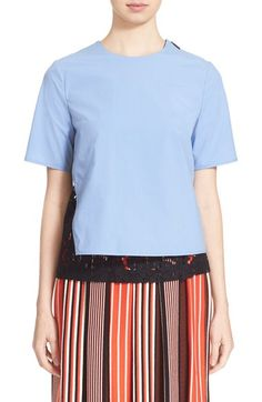 MSGM Double Layer Top. #msgm #cloth #