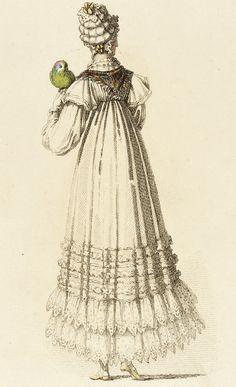Fashion Plate (Morning Dress) Rudolf Werner Ackermann (Germany, Wuppertal, born 1908), Rudolph Ackermann (England, London, 1764-1834), England, November 1816