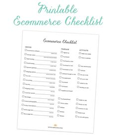 Our ecommerce setup checklist will help you get started selling online without missing a step.