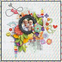 Collections :: T :: This happy place by WendyP Designs :: This happy place - Scrapkit