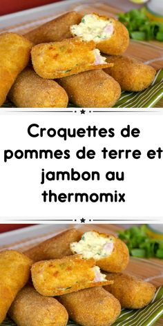 Croquettes of potatoes and ham with thermomix a delight as an aperitif or to accompany your dishes. Brunch Recipes, My Recipes, Coconut Chocolate Chip Cookies, Cooking Chef, Charcuterie, Nutella, Kids Meals, Sweet Potato, Food And Drink