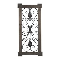 You'll love the Traditional Rectangular Scroll Work Wall Décor at Wayfair - Great Deals on all Décor & Pillows products with Free Shipping on most stuff, even the big stuff.