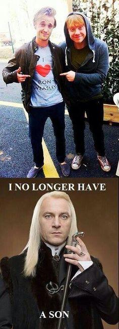 Aww poor Lucius