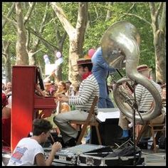 Jazz Age Lawn Party at Governors Island NYC - If you happen to live in New York City (or the Greater New York Area), or you happen to be vacationing here this weekend; this Saturday and Sunday...
