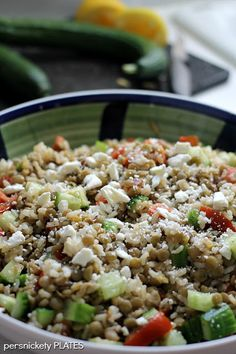 Lentils with Brown Rice