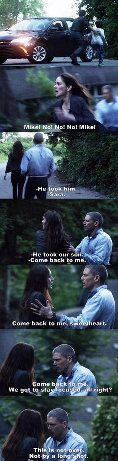 Prison Break S05E09 - Michael & Sara. Michael is so, so sweet. I need a Michael Scofield in my life, and by that, I mean, I need Wentworth Miller ❤️