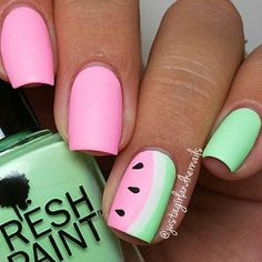 99 Best Summer Nails! View them all right here -> | http://www.nailmypolish.com/summer-nails-99-best-summer-nails/ | @nailmypolish