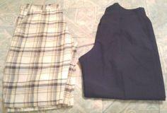 Men's Dress Pants Size 34x30 and Short's Size 34