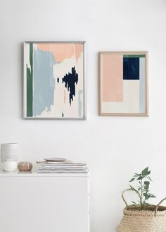 Pin by the peoples prints on pastels in 2019 Abstract Geometric Art, Abstract Shapes, Geometric Prints, Geometric Wall, Modern Prints, Art Prints, Modern Wall, Wall Art Decor, Room Decor