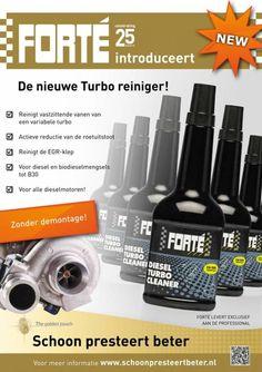 Nieuwe producten om een Turbo VTG storing door vervuiling op te lossen.