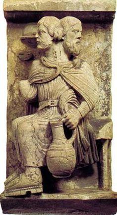 IANUARIE – LUNA LUI IANUS – ÎNCEPUTUL CEL BUN   ghemulariadnei Roman Sculpture, Stone Sculpture, Ancient Rome, Ancient Art, Romanesque Art, Romanesque Sculpture, Roman Gods, Roman History, Deities